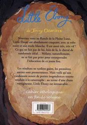 Little Ebony - 4ème de couverture - Format classique