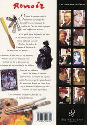 Renoir - 4ème de couverture - Format classique