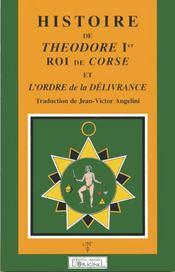 Histoire de théodore 1er roi de corse - Intérieur - Format classique