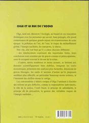 Olga Et La Rue De L'Ecolo - 4ème de couverture - Format classique