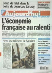 Aujourd'Hui En France N°558 du 31/03/2003 - Couverture - Format classique