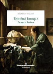 L'episteme baroque - Couverture - Format classique
