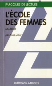 L'école des femmes, de Molière - Couverture - Format classique