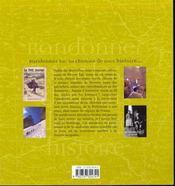 2000 ans d'histoire sur les chemins de randonnee - 4ème de couverture - Format classique