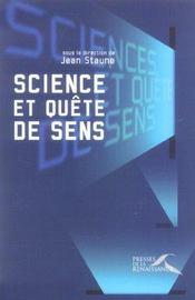 Science Et Quete De Sens - Intérieur - Format classique