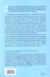 Science Et Quete De Sens - 4ème de couverture - Format classique