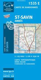 Saint Savin ; Ambes - Couverture - Format classique