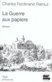 Guerre Aux Papiers (La) - Couverture - Format classique
