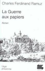 Guerre Aux Papiers (La) - Intérieur - Format classique