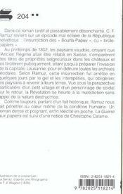 Guerre Aux Papiers (La) - 4ème de couverture - Format classique