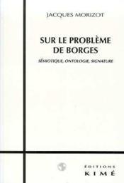 Sur le problème de Borges - Couverture - Format classique
