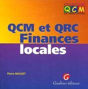Qcm & qrc finances locales - Intérieur - Format classique