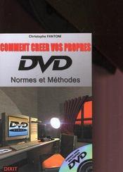 Comment creer vos propres dvd - Intérieur - Format classique