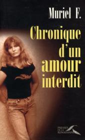 Chronique D'Un Amour Interdit - Couverture - Format classique