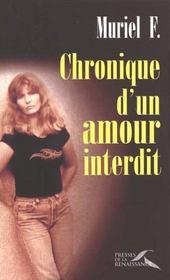 Chronique D'Un Amour Interdit - Intérieur - Format classique