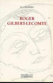 Roger Gilbert Lecomte - Couverture - Format classique