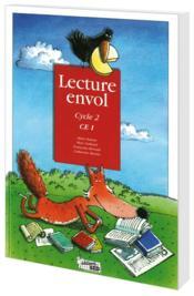 Lecture Envol ; Ce1 ; Livre De L'Elève - Couverture - Format classique
