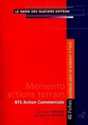 Memento Actions Terrain Bts Ac - Couverture - Format classique