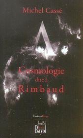 Cosmologie dite a rimbaud - Intérieur - Format classique