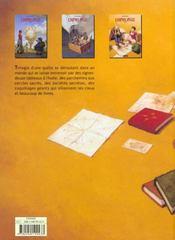 L'Horloge T.3 - 4ème de couverture - Format classique