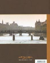 Le Pont Des Arts ; Paris - 4ème de couverture - Format classique