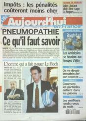 Aujourd'Hui En France N°559 du 01/04/2003 - Couverture - Format classique