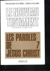 Introduction A La Bible. 3. Le Nouveau Testament - Couverture - Format classique