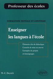 Enseigner les langues à l'école - Intérieur - Format classique