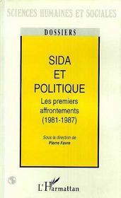 Sida Et Politique ; Les Premiers Affrontements, 1981-1987 - Intérieur - Format classique