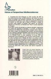 La Communaute Juive De Livourne - 4ème de couverture - Format classique