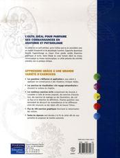 Anatomie et physiologie humaines ; td - 4ème de couverture - Format classique