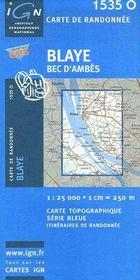 Blaye ; Bec d'Ambes - Intérieur - Format classique