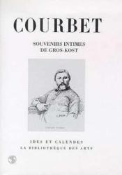 Courbet souvenirs intimes - Couverture - Format classique