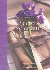 Secrets D'Antan - Intérieur - Format classique