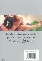 Kama Sutra Sur L'Oreiller - 4ème de couverture - Format classique