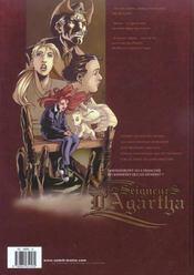 Les seigneurs d'agartha t.2 ; l'oracle - 4ème de couverture - Format classique
