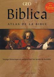 Biblica atlas de la bible - Intérieur - Format classique
