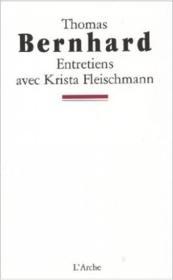Entretiens Avec Krista Fleischmann - Couverture - Format classique