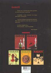 Ibicus t.3 - 4ème de couverture - Format classique