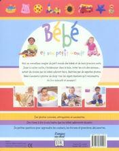Bebe Et Son Petit Monde - 4ème de couverture - Format classique
