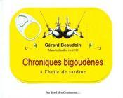 Chroniques bigoudènes à l'huile de sardine - Couverture - Format classique