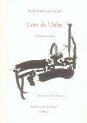 Lions De L'Atlas Et Autres Nouvelles - Intérieur - Format classique