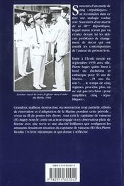 Souvenirs d'un marin de 5 républiques - 4ème de couverture - Format classique