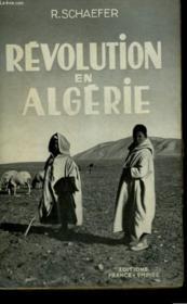 Revolution En Algerie. - Couverture - Format classique