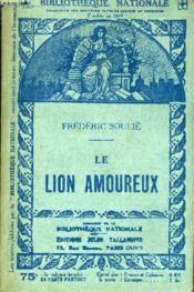Le Lion Amoureux. - Couverture - Format classique