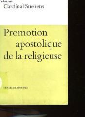Promotion Apostolique De La Religieuse - Couverture - Format classique