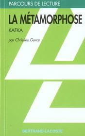 La métamorphose, de Franz Kafka - Intérieur - Format classique
