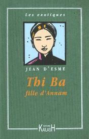 Thi-Ba Fille D'Annam - Intérieur - Format classique