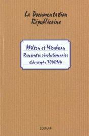 MILTON ET MIRABEAU : rencontre révolutionnaire - Intérieur - Format classique