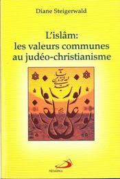 L'islam: les valeurs communes au judeo-christianisme - Intérieur - Format classique